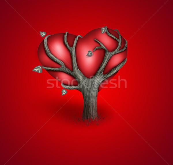 romantic card   Stock photo © zven0
