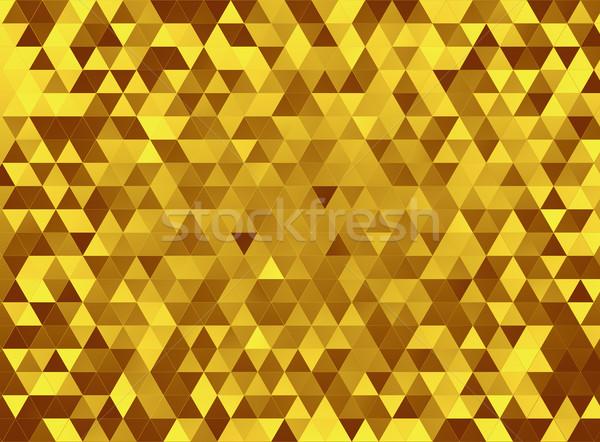 Altın soyut arka plan turuncu duvar kağıdı model Stok fotoğraf © zven0
