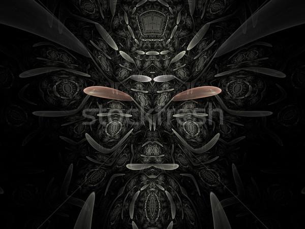 Stockfoto: Fractal · ontwerp · abstract · 3D · effect · textuur