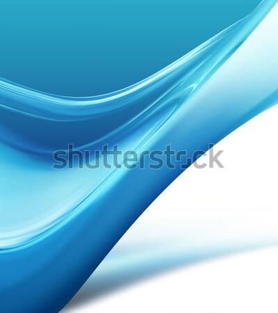 blue wave Stock photo © zven0