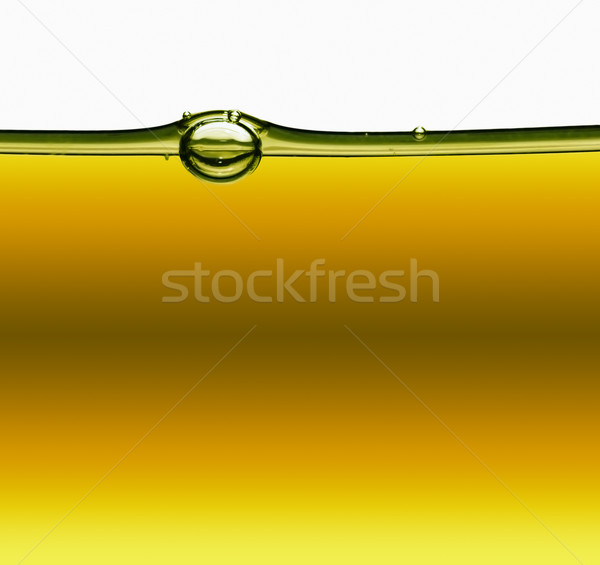 Petróleo aire burbujas alimentos poder bebidas Foto stock © zven0