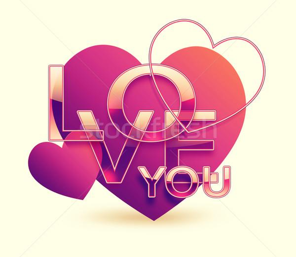 Love You Stock photo © zven0