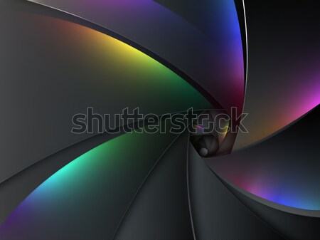 multicolored camera lens background Stock photo © zven0