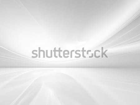 Zilver zijde golf mode abstract ontwerp Stockfoto © zven0