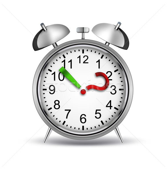Сток-фото: что · время · будильник · вопросительный · знак · точки · часы
