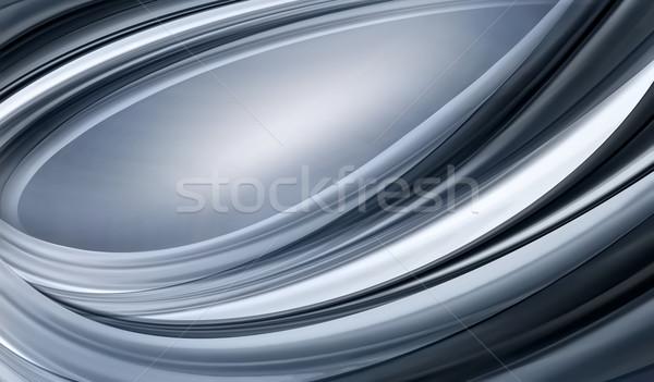 Abstrakten chrom voll Bildschirm Metall Hintergrund Stock foto © zven0