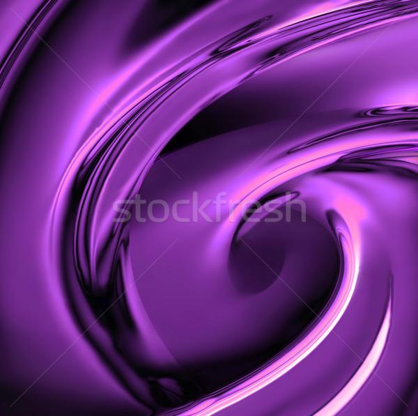 Viola cromo luminoso tecnologia industriali nero Foto d'archivio © zven0