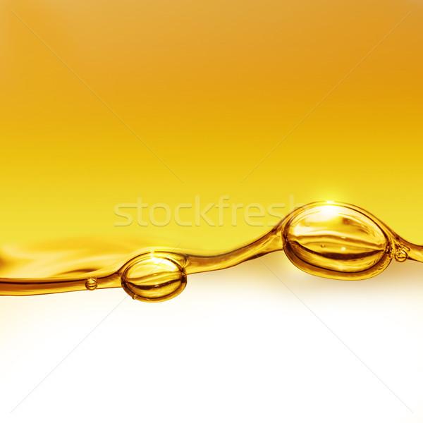 Olaj levegő buborékok étel erő italok Stock fotó © zven0