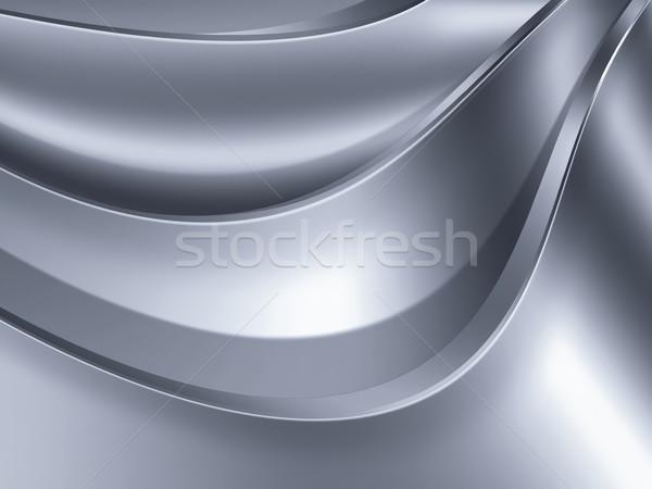 Metal streszczenie projektu technologii tle ramki Zdjęcia stock © zven0