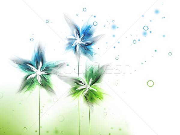 Természet absztrakt virágok textúra születésnap háttér Stock fotó © zven0
