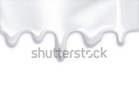 dripping milk  Stock photo © zven0