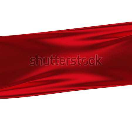 red silk background Stock photo © zven0