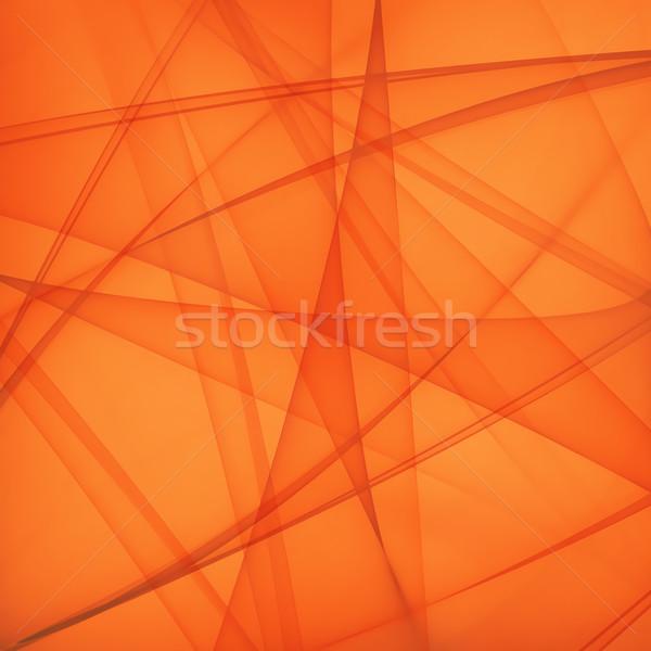 Fényes narancs absztrakt textúra háttér hullám Stock fotó © zven0