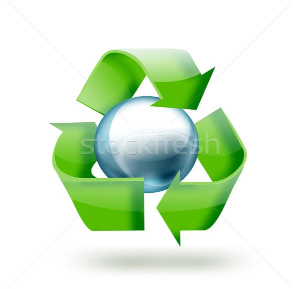 recycle symbol Stock photo © zven0