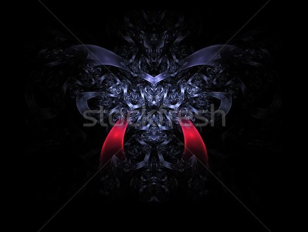 фрактальный дизайна аннотация 3D эффект текстуры Сток-фото © zven0