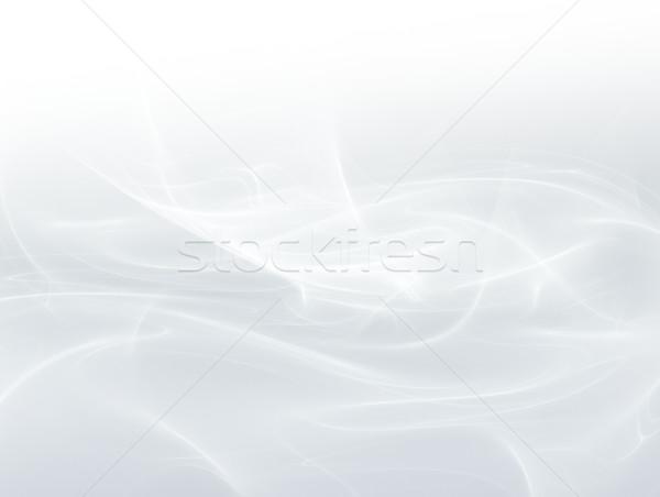 Streszczenie biały falisty linie świetle projektu Zdjęcia stock © zven0