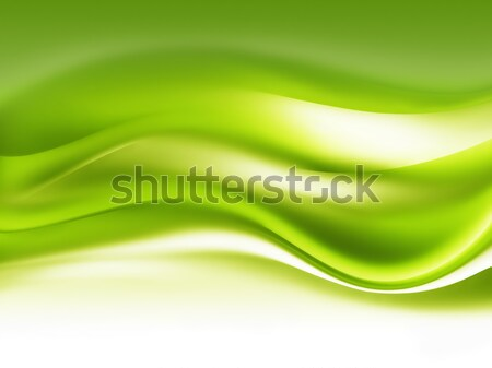 Absztrakt zöld művészet terv fű levél Stock fotó © zven0