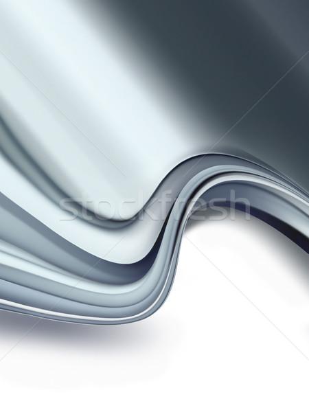 хром аннотация белый фон металл кадр Сток-фото © zven0