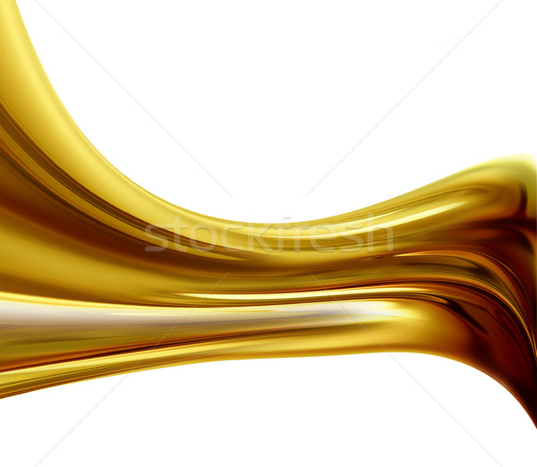 golden wave Stock photo © zven0