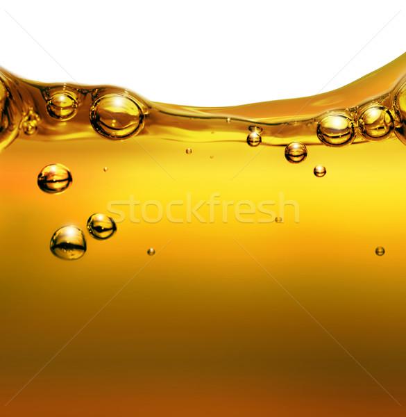 Yağ hava kabarcıklar gıda güç içecekler Stok fotoğraf © zven0