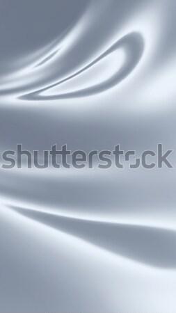 белый атласных ткань текстуры моде Сток-фото © zven0