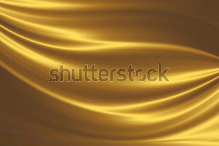 golden silk Stock photo © zven0