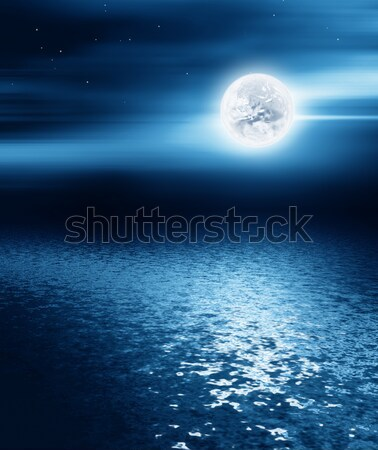 night landscape Stock photo © zven0