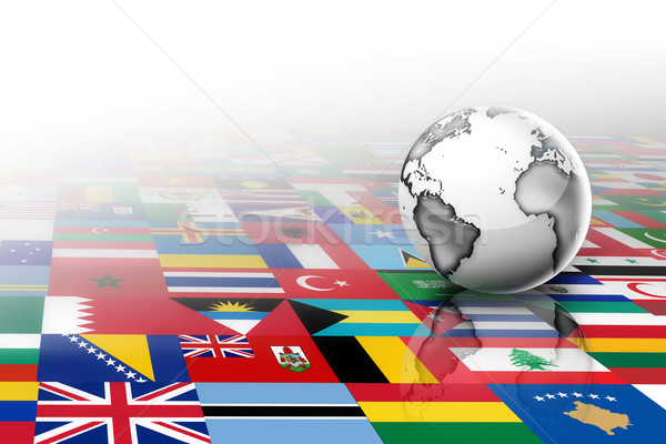 Flags of the world Stock photo © zven0