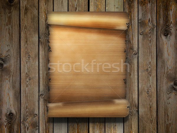 sheet of papyrus Stock photo © zven0