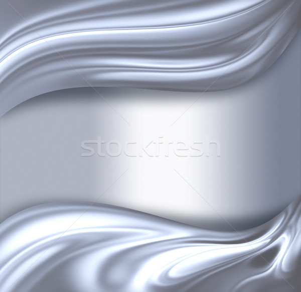 クロム 波 抽象的な 光 テクスチャ 背景 ストックフォト © zven0