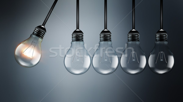 Idea concept image Stock photo © zven0
