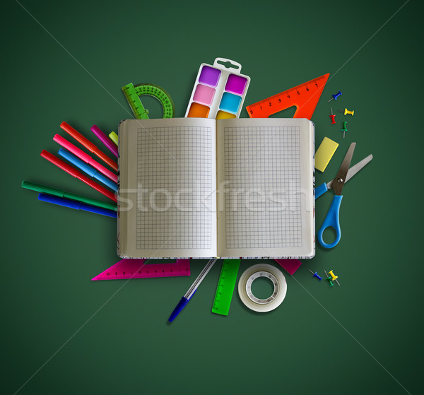 Back to school concept Stock photo © zven0