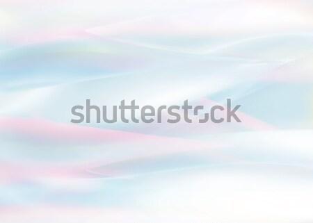 Pastel cores abstrato diferente natureza azul Foto stock © zven0