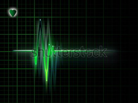 ECG Stock photo © zven0