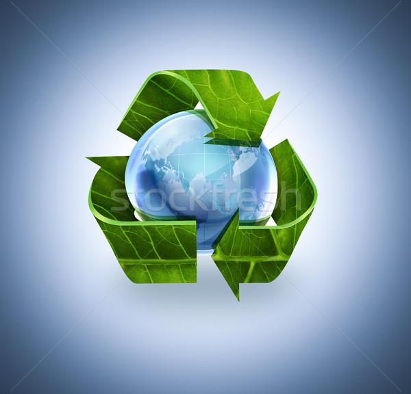 recycle world Stock photo © zven0