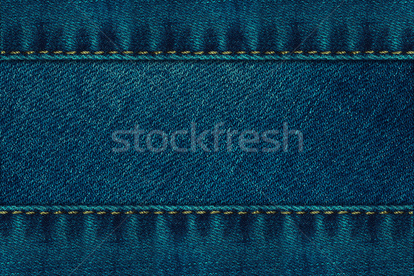 Jeans weefsel vol scherm mode abstract Stockfoto © zven0