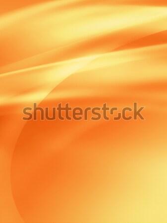 Narancs absztrakt textúra művészet nyár arany Stock fotó © zven0