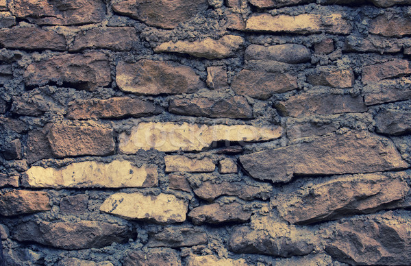 Stone wall background Stock photo © zven0