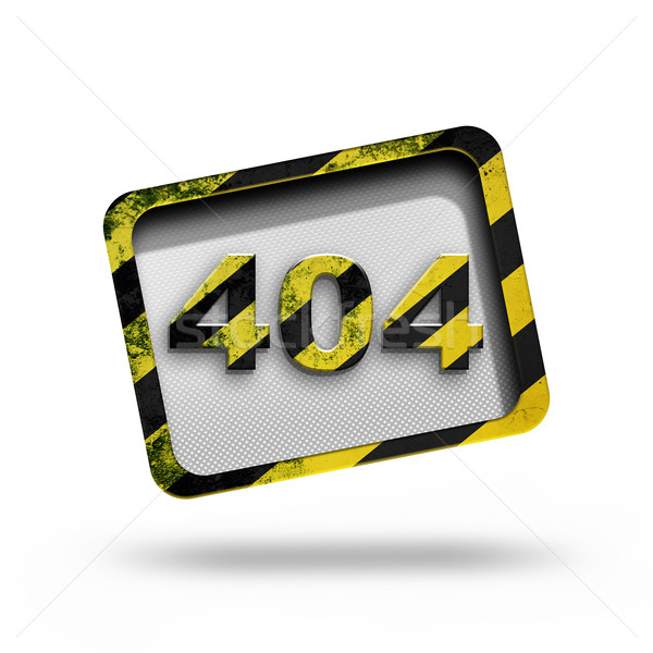 404 エラー オリジナル デザイン コンピュータ インターネット ストックフォト © zven0