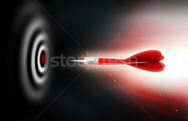 Stock photo: darts