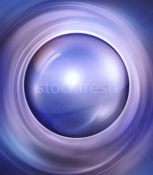 мяча стекла фон искусства пространстве Сток-фото © zven0