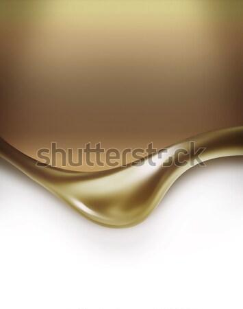 Absztrakt arany fény terv háttér grafikus Stock fotó © zven0