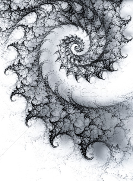 spiral fractal background  Stock photo © zven0