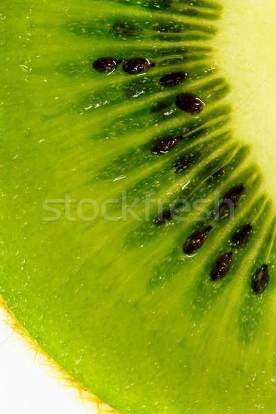 киви ломтик текстуры продовольствие зеленый Сток-фото © zven0