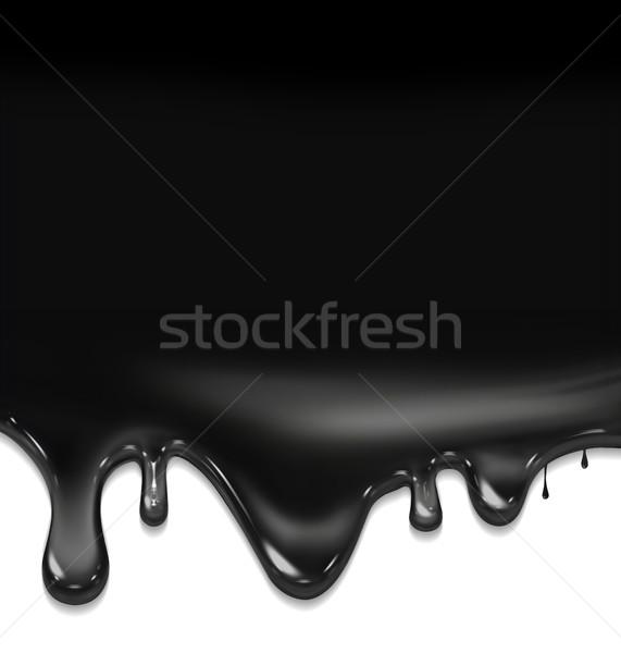 Preto pintar textura projeto fundo escuro Foto stock © zven0