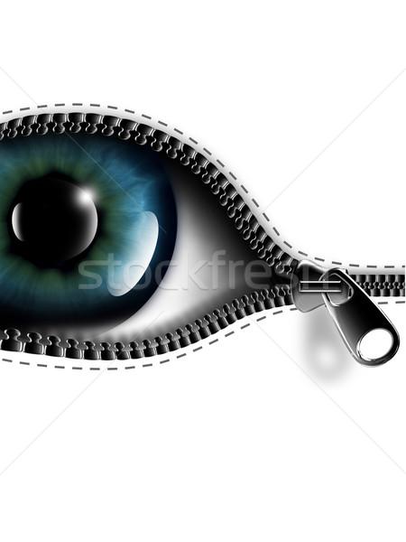 open your eyes Stock photo © zven0