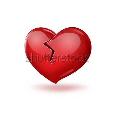 Broken heart Stock photo © zven0