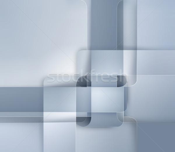 Moderne ontwerp abstract internet teken behang Stockfoto © zven0
