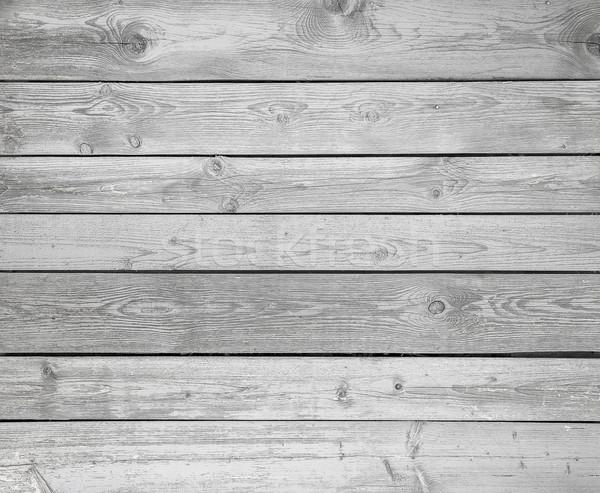 Weiß Holz Planke Textur Natur Design Stock foto © zven0