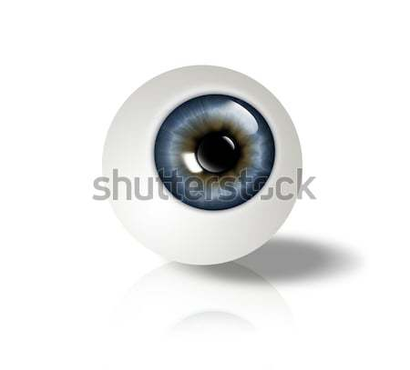 eyeball Stock photo © zven0